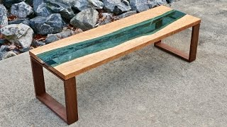 Download Live Edge River Coffee Table | How To Build - Woodworking Video