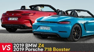Download 2019 BMW Z4 VS Porsche 718 Boxster ► Design & Specifications Video