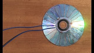 Download Free Energy 100% , How make solar cell from CD flat Video