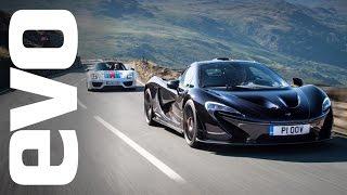 Download McLaren P1 v Porsche 918 Spyder. Which is fastest? evo Track Battle Video