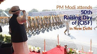Download PM Modi attends the 50th Raising Day of Central Industrial Security Force (CISF) in New Delhi | PMO Video