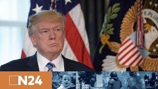 """Download Nachrichten - """"Geladen und entsichert"""" – Trump erklärt USA für einsatzbereit Video"""