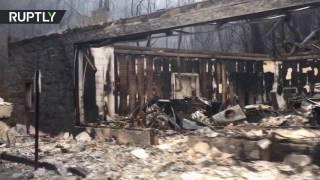 Download «Сайлент Хилл» наяву: лесные пожары превратили Теннесси в площадку для съёмок фильмов ужасов Video