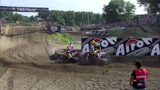 Download Antonio Cairoli vs Tim Gajser insane battle MXGP of Lombardia-Italy Mantova 2016 Video