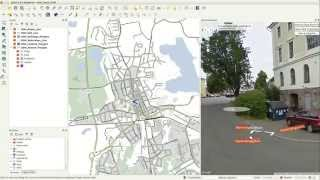 Download QGIS Quick Tip - StreetView Plug-In Video