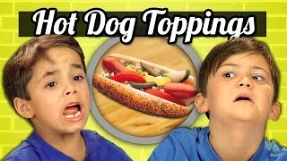 Download KIDS vs. FOOD #19 - HOT DOG TOPPINGS Video