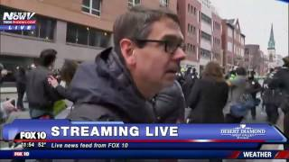 Download MASS CHAOS: DC Protesters Take To The Streets After Donald Trump Inauguration Video