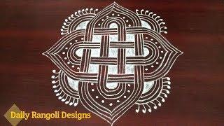 Download Dhanurmasam muggulu designs with dots | simple Margazhi kolam designs | latest easy rangoli Video