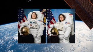 Download NASA Astronauts Complete All-Woman Spacewalk Video