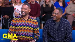 Download Will Smith and Martin Lawrence reunite for 'Bad Boys for Life' l GMA Video