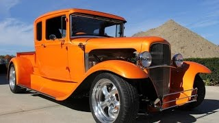 Download 1930 Ford Model A Street Rod Pickup For Sale Video
