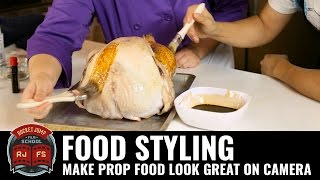 Download Food Styling: Make Prop Food Look Great on Camera Video