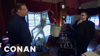 Download Andy Visits Guillermo Del Toro's Bleak House - CONAN on TBS Video