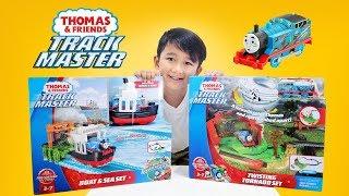 Download Twisting Tornado dan Boat and Sea Set - Unboxing Thomas & Friends edisi Trackmaster baru! Video