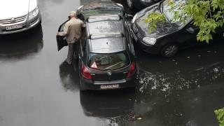 Download Дед жжёт! Оригинальный выезд с парковки! Video
