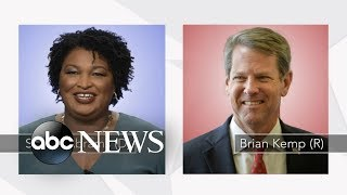 Download Brian Kemp, Stacey Abrams make final push in tight Georgia governor's race Video