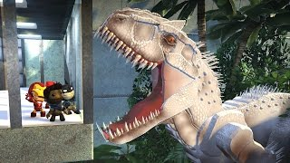 Download LittleBigPlanet 3 - Jurassic World Park Tour Featuring Indominus Rex T Rex Raptors & Mosasaurus Video