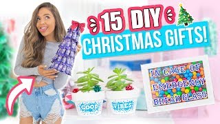 Download 15 Last Minute DIY Christmas Gifts People ACTUALLY Want! Video