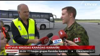 Download Latvijā ierodas Kanādas karavīri Video