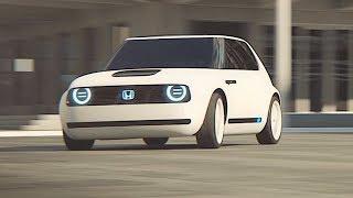 Download Honda Urban EV Electric Driving Video World Premier New Honda Concept Frankfurt Motorshow 2017 IAA Video