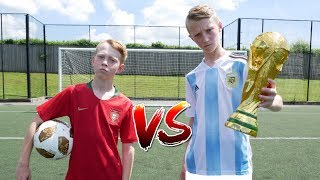 Download Messi VS Ronaldo WORLD CUP FOOTBALL CHALLENGE! Video