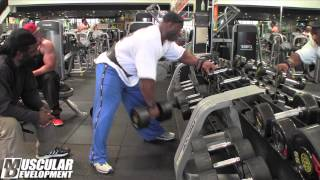 Download In the Trenches | Dexter Jackson trains back in prep for Mr. Olympia copetition Video