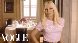 Download 73 Questions With Donatella Versace | Vogue Video