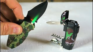 Download 6 Multi Tool Lighter Gadgets put to the Test Video