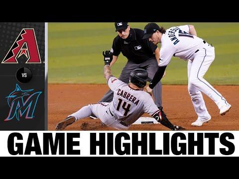 D-Backs vs. Marlins Full Game Highlights (5/4/21) | MLB Highlights