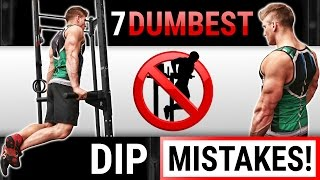 Download 7 Dumbest Tricep Dip Mistakes Sabotaging Your Triceps Growth!   STOP DOING THESE! Video