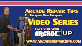 Download Arcade Repair Tips - Staff Review - Tim's Visit With Arcade1Up Video