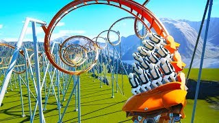 Download Building A Roller Coaster That Turns Your Brain To Jello in Planet Coaster Video