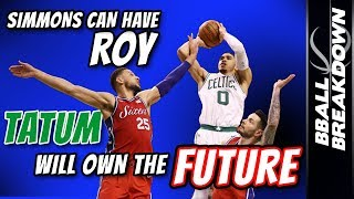 Download Simmons Can Have ROY, TATUM Will OWN The FUTURE Video