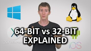 Download 32-bit vs 64-bit Computers & Phones as Fast As Possible Video