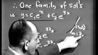 Download Part II: Differential Equations, Lec 2: Linear Differential Equations Video