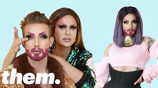 Download Nico Tortorella Gets a Drag Makeover from Trinity Taylor | Drag Me | them. Video