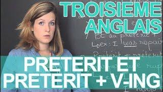 Download Preterit et preterit + V-ing - Anglais - 3e - Les Bons Profs Video