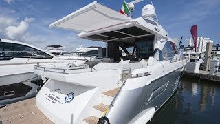 Download Debut of the Azimut S6 Yacht: A Pure Coupe with Sporty DNA Video