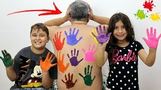 Download LEARN COLORS FOR CHILDREN BODY PAINT FINGER FAMILY SONG NURSERY RHYMES LEARNING VIDEO Video