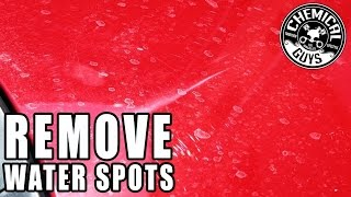 Download How To Remove Water Spots From Cars - Chemical Guys Video