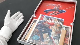 Download Unboxing Marvel's SPIDER-MAN for PS4! (Ultra Rare Limited Edition) Media Kit Box & Bag Video