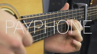 Download Maroon 5 - Payphone - Fingerstyle Guitar Cover By James Bartholomew Video