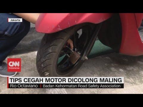 Tips Cegah Motor Dicolong Maling