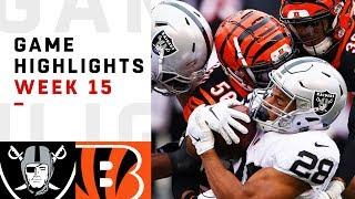 Download Raiders vs. Bengals Week 15 Highlights | NFL 2018 Video