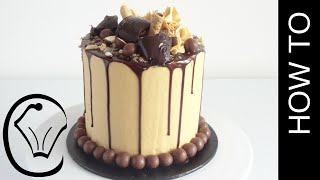 Download How To Make A Tall Choc Caramel Drip Cake by Cupcake Savvy's Kitchen Video