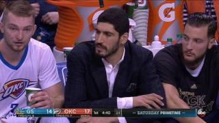 Download NBA Games of the Year - Golden State Warriors at Oklahoma City Thunder from 02/11/2017 Video