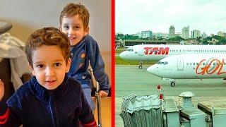 Download Voltando para Casa de Avião com as Crianças Paulinho e Toquinho Video