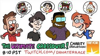 Download The Ultimate Crossover! Charity Drawathon Video