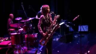 Download Céline Bonacina, Baritone Sax, from Bach to Be-Bop, Classical to Jazz, Trio, live in Germany, 2011 Video