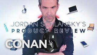 Download Jordan Schlansky's Product Review: Darth Vader Helmet - CONAN on TBS Video
